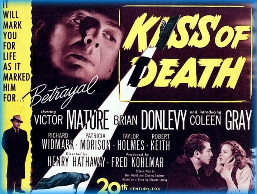 O Beijo da Morte (1947) FILME ONLINE | Cinema Livre