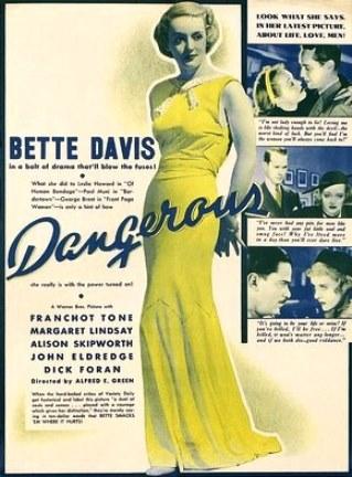 Resultado de imagem para filme perigosa 1935